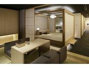 【本館ザ・カンラスイート】茶室としてご利用頂けるお部屋もご用意しております。