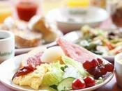 朝食:どれにしようか迷っちゃいます