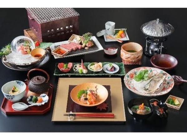 【厳選和牛のあぶり付き】贅沢会席料理
