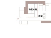お部屋見取り図(薩摩客殿・和洋室)