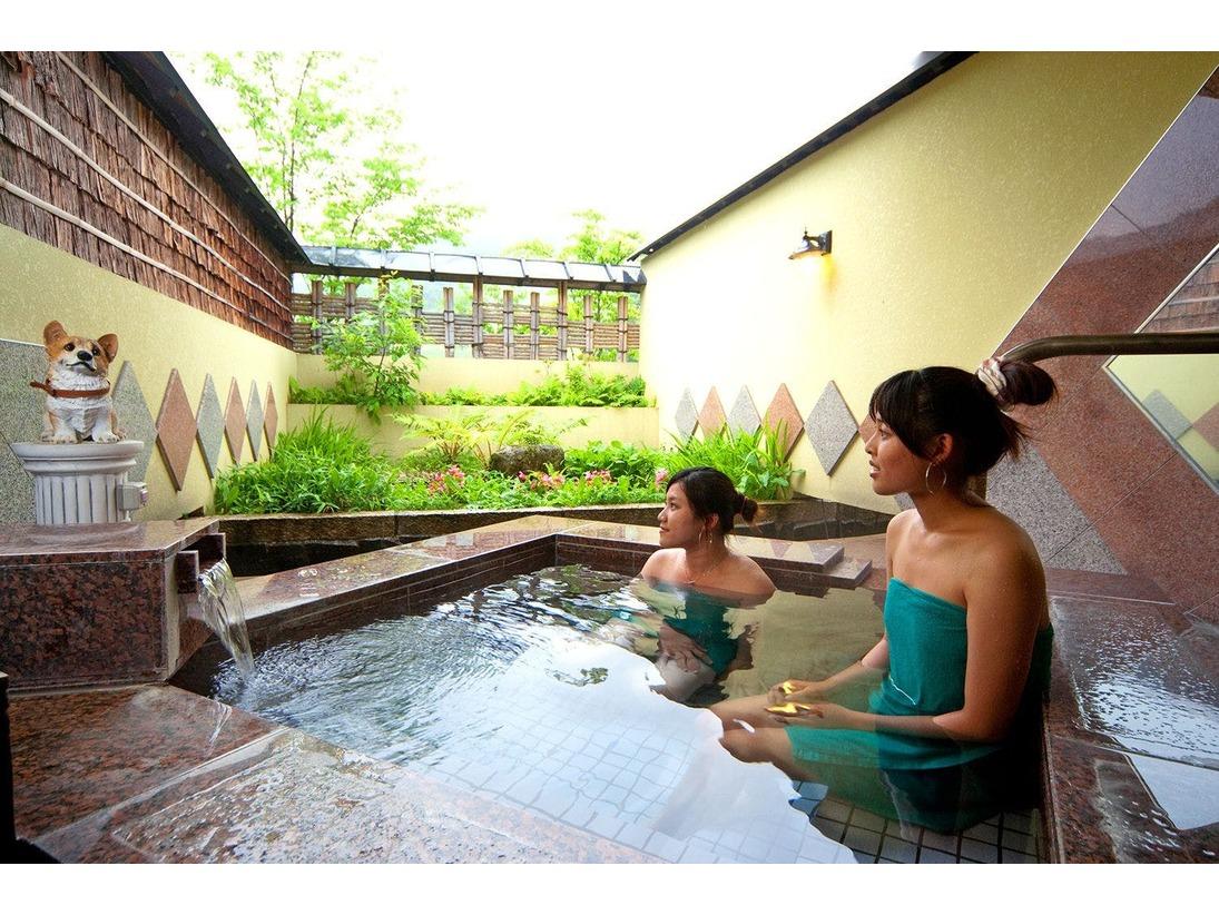 11種類の個室貸切露天風呂2、癒しの湯。