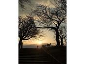 若草山展望所からの夕景は絶景