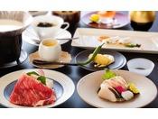 淡路島ならではの旬の食材をふんだんにちりばめた特選コース
