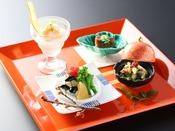 四季のお料理(一例)