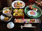 ◆夕食◆美味しいものを少しだけお部屋にて…美味少量京懐石