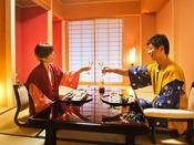 ◆過ごし方◆京都という雅やかな食が集う地。当館はその中でも、一層の自信をもってお料理をお勧めします