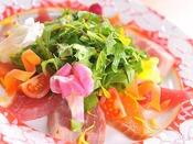 レディース&美容会席★海の幸・山の幸のカルパッチョ信州野菜を添えて★