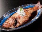 【のどぐろ煮付け】は望湖楼自慢の味です