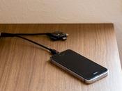 客室標準装備 スマホ&携帯充電器
