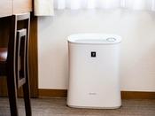 全室標準装備 空気清浄機