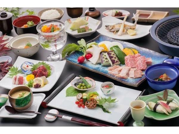 季節の美味しさが詰まった会席料理。