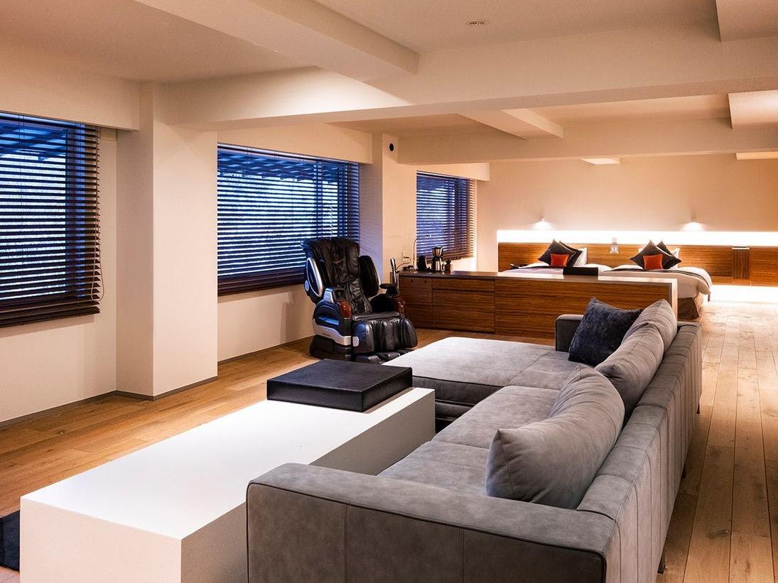 【エグゼクティブスイート】国内外のVIPにも宿泊頂いた当館最上級のお部屋タイプです。広さは100平米。