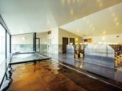 【エミオンタワー】天然温泉付き大浴場「ほほえみの湯」内湯 ※有料