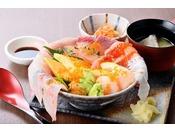 こぼれ海鮮丼