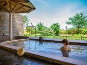 開放感あふれる庭園露天風呂「荒磯の湯」
