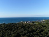 目の前に日本海を望む絶景のロケーション!
