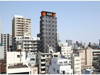 アパホテル〈上野 稲荷町駅北〉