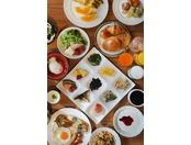 ツアービッフェ:朝食風景