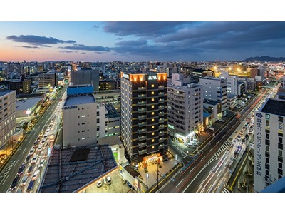 アパホテル<博多東比恵駅前>