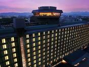 ホテル夜外観