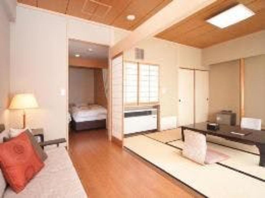 【対水閣客室】和洋室タイプ45平米 ツインベッドあり