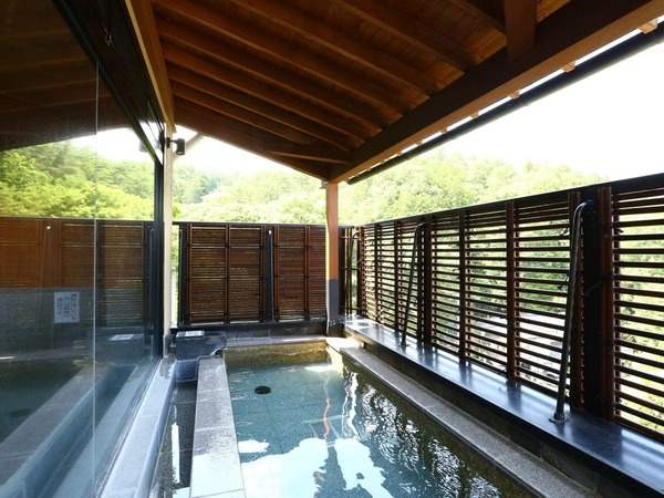 ■景色を望む露天風呂