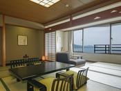 【嬉春亭】和室(6-10階/54平米)