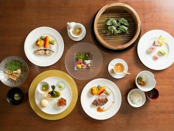 【お料理の一例】あうら橘のべっぴん料理