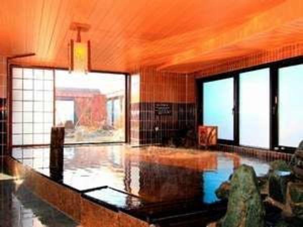 ◆男性大浴場 天然温泉岩木桜の湯(内湯)