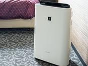 *お部屋備品(一部客室)【プラズマクラスター空気清浄機】お部屋の空気を快適に保ちます。