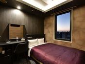 *【2020年5月リニューアル】セミダブル夜のイメージ・階層ごとに異なるデザインを楽しめるお部屋です