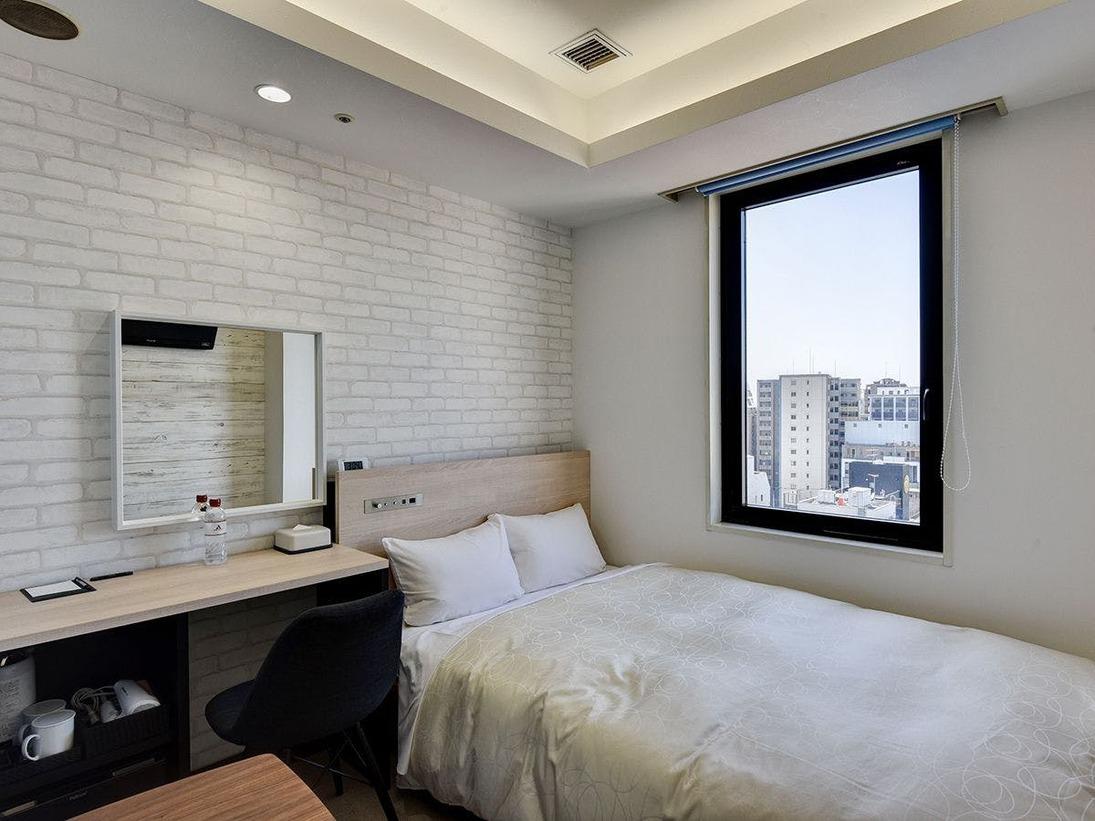 *【2020年5月リニューアル】11Fセミダブル・階層ごとに異なるデザインを楽しめるお部屋です