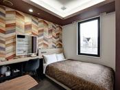 *【2020年5月リニューアル】5Fセミダブル・階層ごとに異なるデザインを楽しめるお部屋です