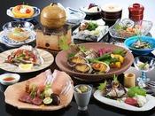 丹後の豊かな自然に恵まれた海の幸・山の幸を特製の石窯で一気に焼く「石窯料理」が特にオススメ!