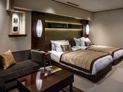 『ジャパニーズスイート』和と洋が見事にマッチした当ホテル人気のお部屋です。
