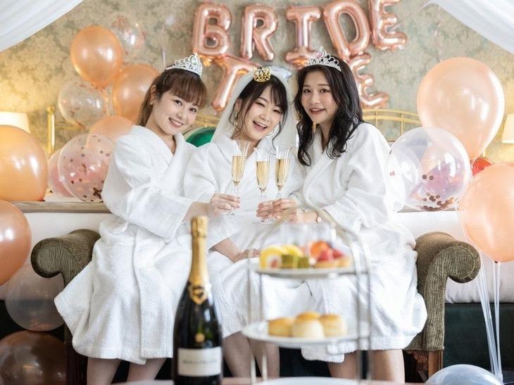 【誰でも最大10%お得】【大切な友人の結婚を祝う】女性たちの憧れ「バチェロレッテパーティープラン」(世界一の朝食付き)