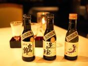 上高地フレンチとご一緒に、信州の名水が生んだ日本酒はいかがですか?