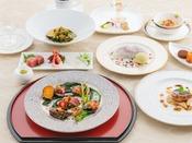 <上高地フレンチ・フレンチジャポネ・特選ディナー>~特選ディナーコース2泊目のお料理です。