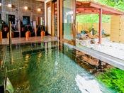 源泉掛け流し~天然温泉100%のお風呂に上高地で入ることができます。ご存知でしたか?