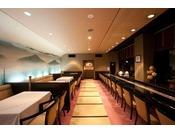 【レストランイメージ】椅子席の御食事のみお客様(昼・夜)湯上りの1ドリンクサービス提供場所等幅広い用途に使用しております。