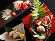 ~北陸の美味満載会席~ 渾身の吉田屋山王閣最高ランクのお料理コースです。北陸の『旨い』をご堪能ください。