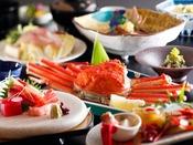 ~蟹姿&ブリしゃぶ会席~ 石川県の食材で代表格『寒ブリ』と蟹姿もご堪能いただける冬幸ご堪能会席