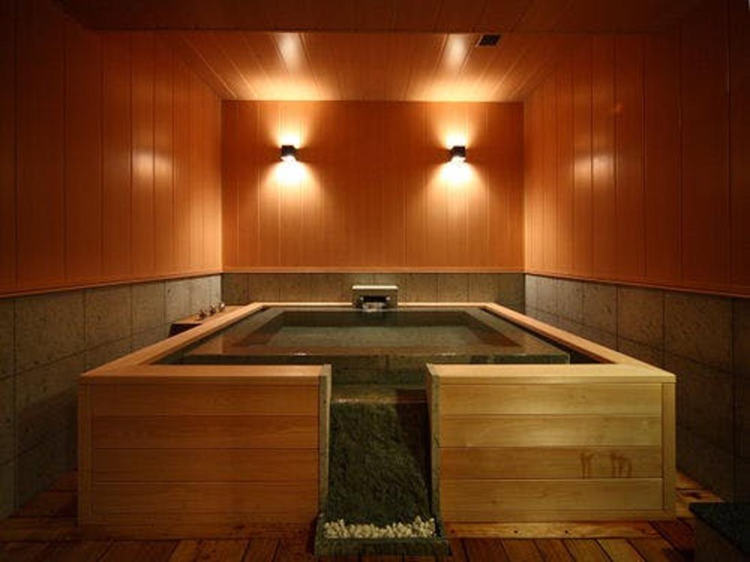 本館・スパ・スイートルーム「菊万葉」(内風呂タイプ)の温泉イメージ
