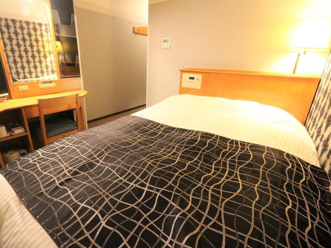 セミダブルルーム / 広さ11.5平米 / ベッド幅120cm×1台