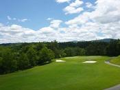 【荘川・ゴルフ場】ゴルフでも有名な荘川。当館は周辺のゴルフ場へのアクセスも便利です。