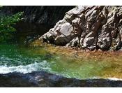 【清流・庄川】日本で最も綺麗な河川に選ばれた清流庄川。