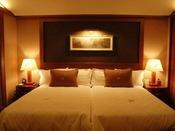 【客室】ハリウッドタイプのベッドルーム 部屋の寝室は、ハリウッドタイプのベッドルームを採用しております