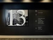 【エレベーターホール】レトロな銀座のフォトグラフを展示