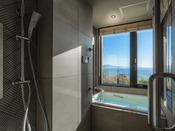 【103・潮騒】2019年4月にリニューアルの新展望風呂(客室風呂)