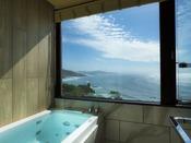 【301・天空】2019年4月にリニューアルの新展望風呂(客室風呂)